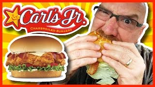 Carl's Jr.  Bacon Swiss Crispy Chicken Fillet Sandwich Review