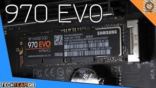 Samsung 970 EVO NVMe M.2 SSD Review