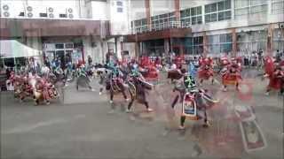 秋田県藤里町藤琴駒踊り2013