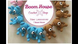 Crochet Bear L Móc Con GẤU L Part 2 L Boom House