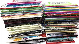 My Coloring Book Collection All The Books Ive Accumulated So Far
