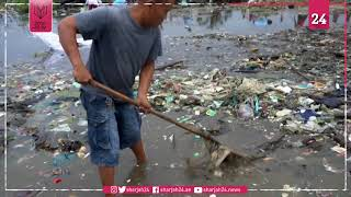Philippines: Thousands clear garbage from beach for mass cleanup