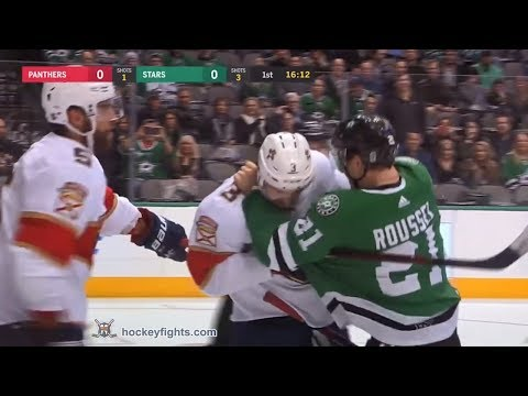 Antoine Roussel vs. Keith Yandle