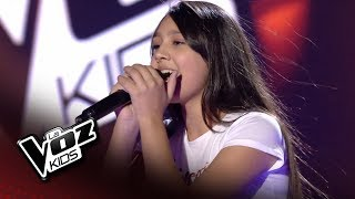 "Flori: ""Stone cold"" – Audiciones a Ciegas  - La Voz Kids 2018"