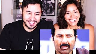 POSTER BOYS | Sunny Deol | Bobby Deol | Trailer Reaction w/ Nicole Lemoine