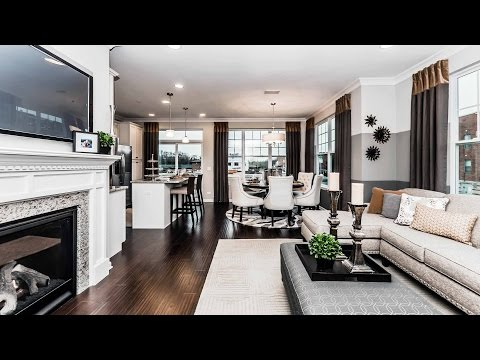 Video tour – a new designer townhome in Rolling Meadows