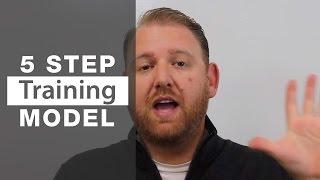 5 Step Restaurant Employee Training Model