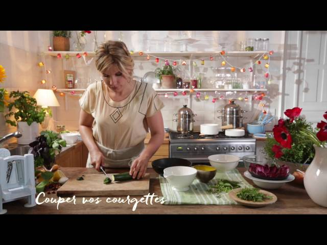 Tagliatelles de légumes crues – Les recettes d'Angèle pour NATURALIA