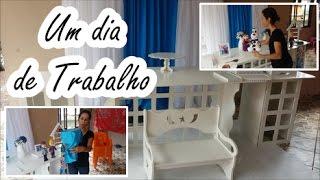 UM DIA DE TRABALHO - Decoração de Festa Infantil #Decorando Festa Comigo