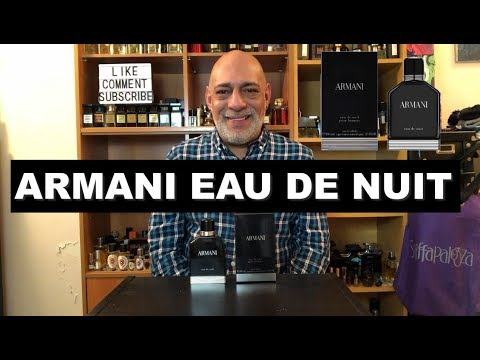 Armani Eau de Nuit (2013) - Fragrance Cologne Review + GIVEAWAY (CLOSED)