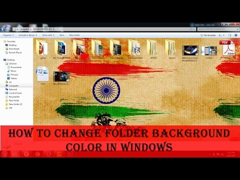 Download How To Change Folder Background Color Icon In Win 7