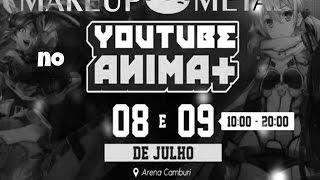 #YoutubeAnimaMais2| BLOG MAKE UP METAL
