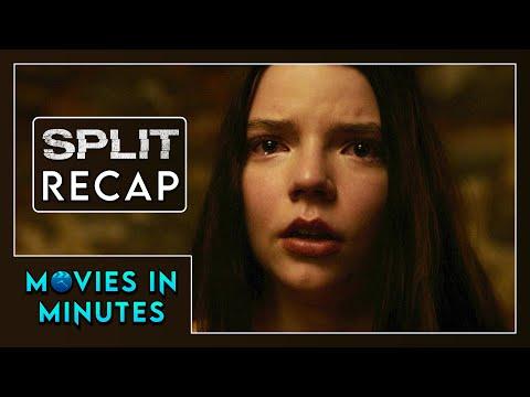 SPLIT in 4 minutes (Movie Recap)