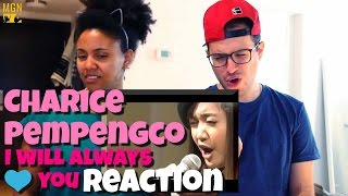 Charice Pempengco - I Will Always Love You Reaction