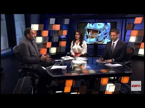 Stephen a smith says shit on first take live