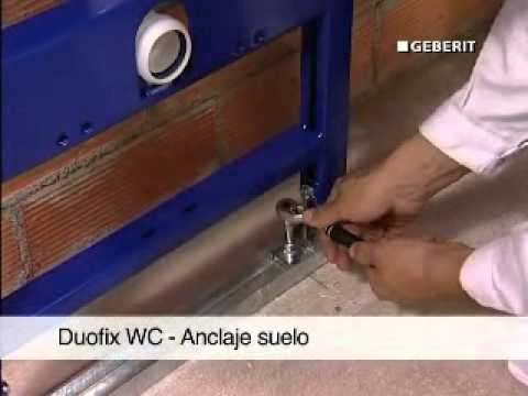Монтаж Duofix 300 у стены