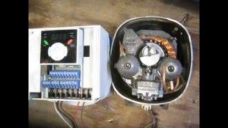 refrigeration compressor and inverter