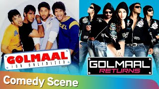 Best Of Golmaal Comedy Scenes - Golmaal Fun Unlimted | Golmaal Returns | Non Stop Golmaal Comedy - Download this Video in MP3, M4A, WEBM, MP4, 3GP