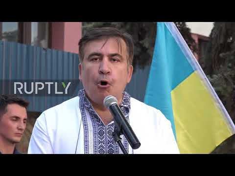 Ukraine: 'I have no right to return until I have traveled all over Ukraine' - Saakashvili