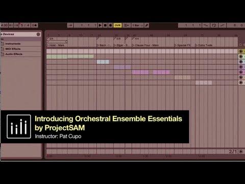 Dubspot Ableton Live Tutorial: ProjectSAM Orchestral Ensemble Essentials
