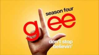 Don't Stop Believin' (Rachel's Audition) - Glee Cast [HD FULL STUDIO]