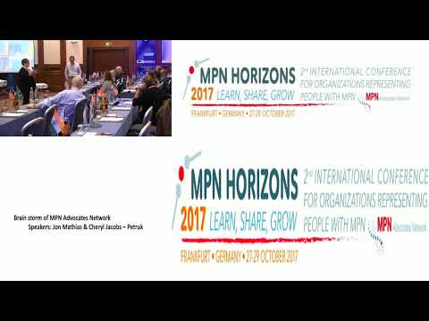 Brain storming Session of MPN Advocates Network - MPN Horizons 2017