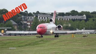 OSRL Boeing 727 Flight Demonstration - Farnborough Airshow