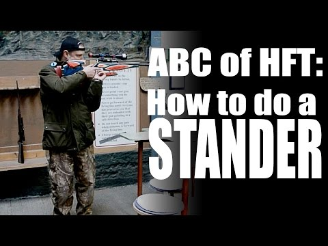 ABC of HFT:  How to do a Stander