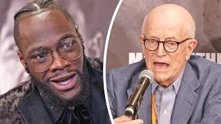 Who's Next For Deontay Wilder? - Shelly Finkel & Deontay Discuss After 1st Rnd Knockout