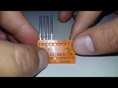 Que tipo de aguja usan la overlock,recta y (collareta/recubridora) n° de serie y medidas!!