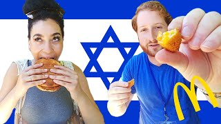 Americans Try Israeli McDonald's - Video Youtube