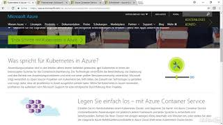 Microsoft Azure - Überblick über Kubernetes