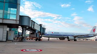 First direct international flight lands in Beijing
