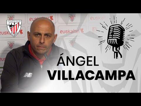 🎙 Ángel Villacampa | post Athletic Club-EDF Logroño | J11 Primera Iberdrola