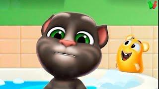 ГОВОРЯЩИЙ ТОМ 2 Мультик Игра #4 Мой Лучший Друг Кот и Хомяк Виртуальный Питомец для Детей