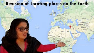 Revision of L-3(Locating places on the Earth) Class 6th D.A.V