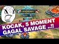 5 Moment GAGAL SAVAGE yang bikin Gregetan Mobile Legends
