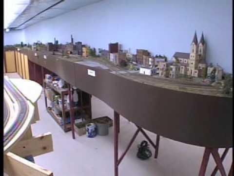 Huge HO Scale Model Railroad Railway Layout – WFRV TV