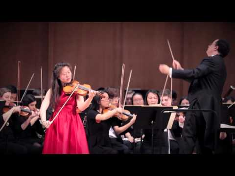 Brahms Violin Concerto with the Duke Symphony Orchestra