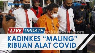 Tak Salurkan 3 Ribu Alat Rapid Test Covid-19, Kadiskes Meranti Ditetapkan Jadi Tersangka Korupsi