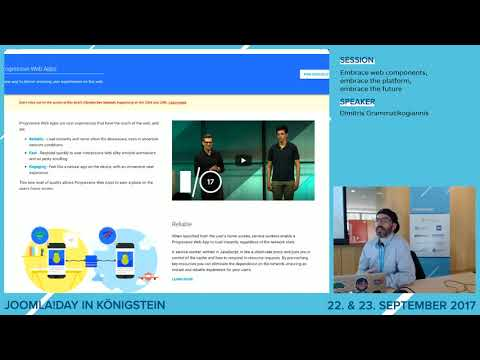 JD17DE - Embrace web components, embrace the platform, embrace the future