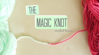CROCHET BASICS: The Magic knot | Bella Coco