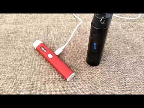 Eleaf iStick QC 200 (200 W, 5000 mAh) в комплекте с Melo 300 - видео 1