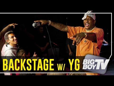 YG Performs 'Suu Whoop', 'Handgun', 'Big Bank' & 'Twist My Fingaz' Backstage w/ Big Boy