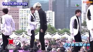[THAISUB] 140701 EXO - THUNDER LIVE @H.K.Dome Festival 2014