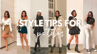 STYLE TIPS FOR PETITES PART 2 | Style Tips For Women 5ft And Under!