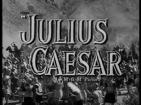 Julius Caesar (1953) - Theatrical Trailer