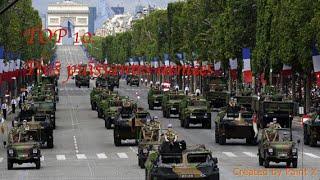 Top 10 des plus puissantes armées du monde