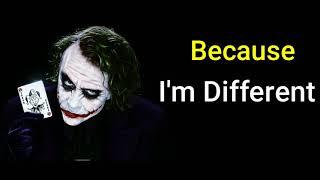 Joker Quotes Attitude Whatsapp Status    Joker Lyrics Whatsapp Status