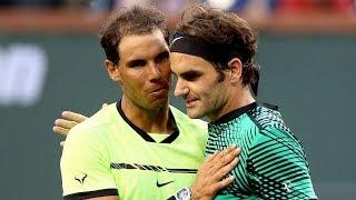 The Day Roger Federer DESTROYED Rafael Nadal (60FPS)